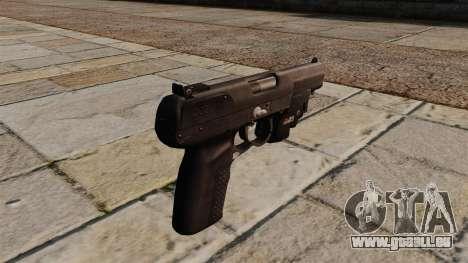 Pistolet FN Five-seveN pour GTA 4 secondes d'écran