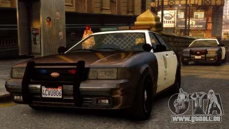 GTA V Police Cruiser pour GTA 4