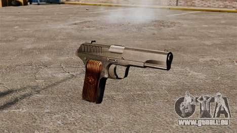Pistolet semi-automatique TT-33 pour GTA 4