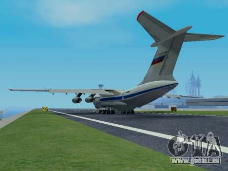 Il-76td v1.0 pour GTA San Andreas vue arrière