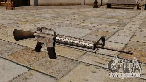 Le fusil d'assaut M16A4 pour GTA 4