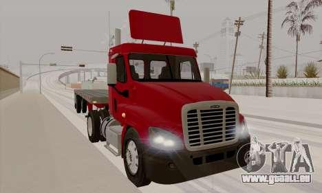 Freghtliner Cascadia Daycab 6x2 pour GTA San Andreas laissé vue