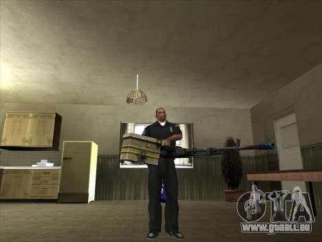 Armes de Pak intérieur pour GTA San Andreas