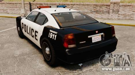 GTA V Buffalo Police pour GTA 4 Vue arrière de la gauche