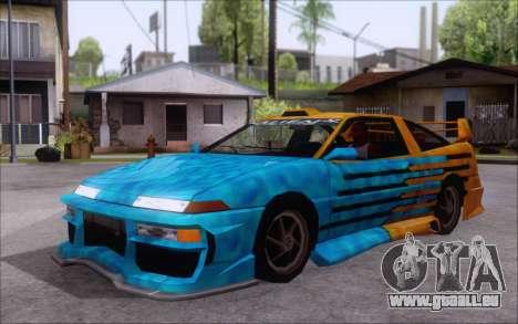 Uranus Fix pour GTA San Andreas vue de droite