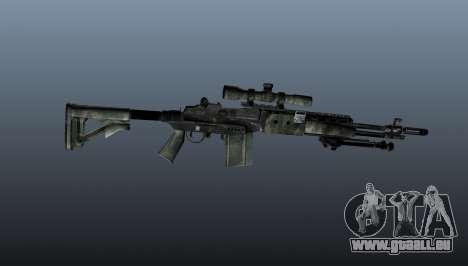 Scharfschützengewehr M21 Mk14 v6 für GTA 4 dritte Screenshot