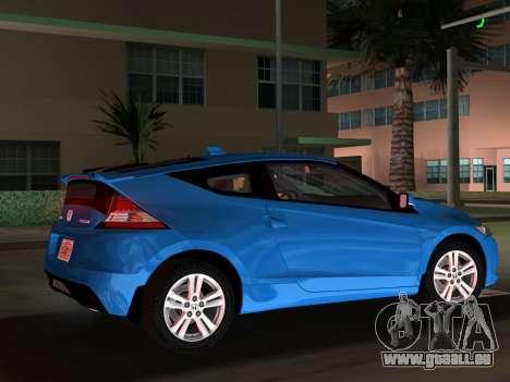 Honda CR-Z 2010 pour une vue GTA Vice City d'en haut