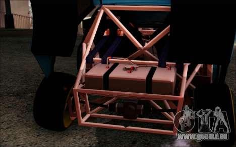 Honda Civic EG6 Tube Frame für GTA San Andreas Innenansicht