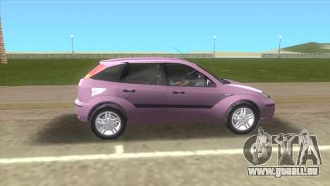 Ford Focus SVT für GTA Vice City linke Ansicht