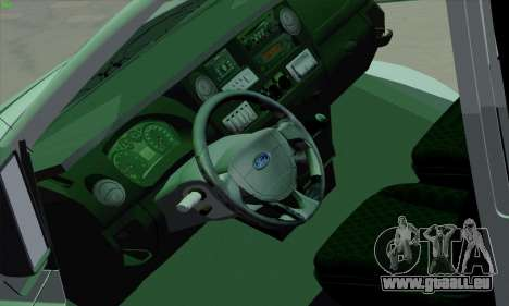 Ford Transit Jumgo für GTA San Andreas Innen