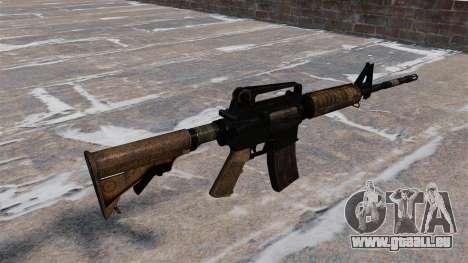 Automatische M4 Karabiner für GTA 4 Sekunden Bildschirm