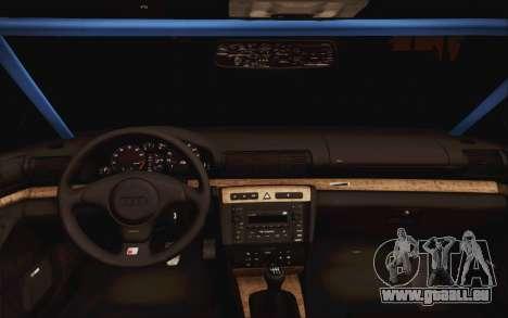 Audi S4 Hellaflush für GTA San Andreas rechten Ansicht