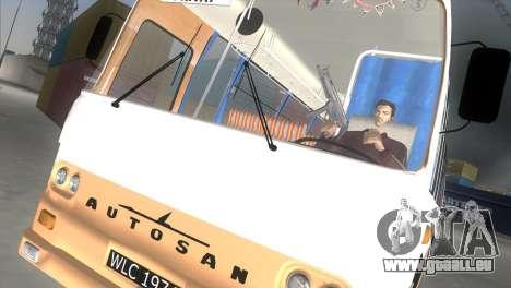 Autosan H9-21 pour GTA Vice City sur la vue arrière gauche