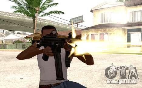 UMP 45 für GTA San Andreas dritten Screenshot