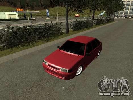 ВАЗ 2114 BPAN pour GTA San Andreas laissé vue
