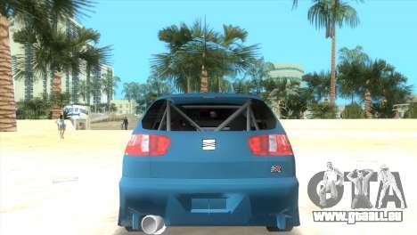 Seat Ibiza GT pour une vue GTA Vice City de la gauche