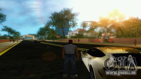 Straßenneubau Starfish Island für GTA Vice City Screenshot her