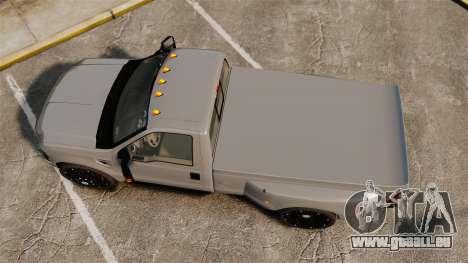 Ford F-350 Pitbull v2.0 pour GTA 4 est un droit