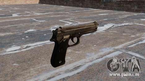Beretta M92FS pistolet pour GTA 4 secondes d'écran