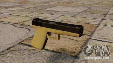Glock bicolore pour GTA 4