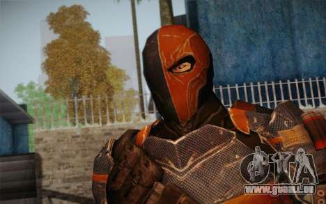 Deathstroke from Batman: Arkham Origins pour GTA San Andreas