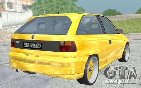 Opel Astra F GSI BBS Style pour GTA San Andreas laissé vue