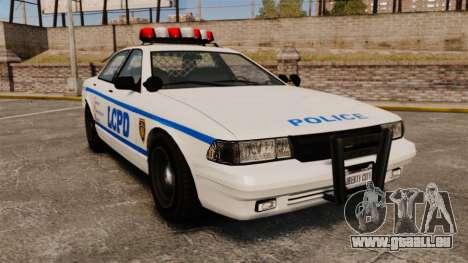 GTA V Police Vapid Cruiser LCPD pour GTA 4