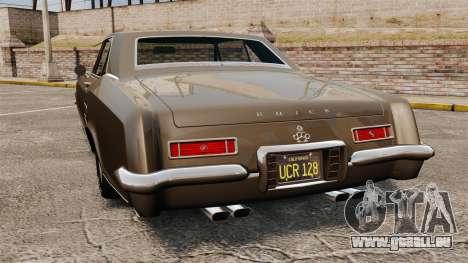 Buick Riviera 1963 für GTA 4 hinten links Ansicht