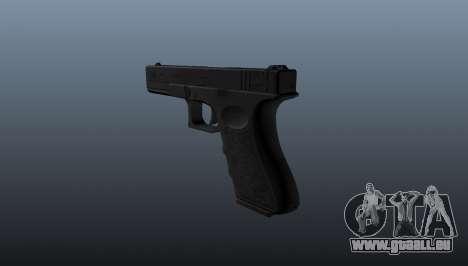 Glock 18 pistolet-mitrailleur pour GTA 4 secondes d'écran