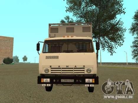 KAMAZ 54115 pour GTA San Andreas laissé vue