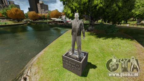 Statue de Claude sida pour GTA 4