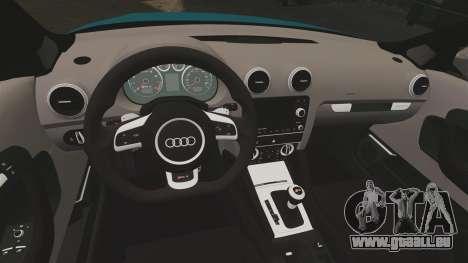 Audi RS3 Sportback [Typ 8PA] 2011 für GTA 4 Innenansicht
