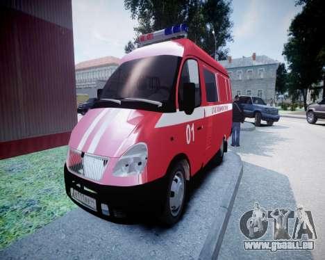 Gazelle 2705 incendie siège pour GTA 4
