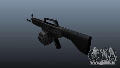 Fusil Daewoo USAS-12 pour GTA 4 secondes d'écran