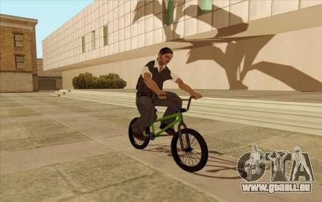 BMX pour GTA San Andreas vue de côté
