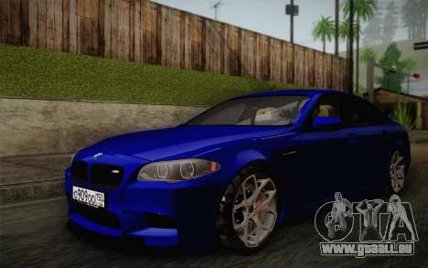 BMW M5 F10 v2 pour GTA San Andreas