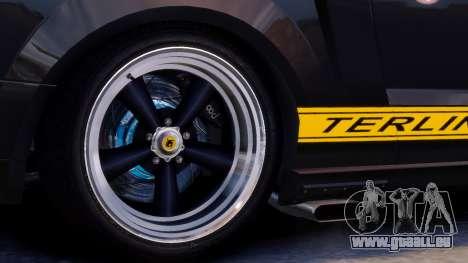 Shelby Terlingua Mustang für GTA 4 Innenansicht