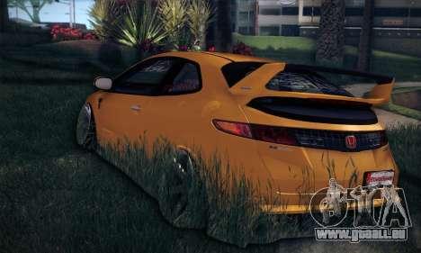 Honda Civic Type R Mugen für GTA San Andreas Rückansicht