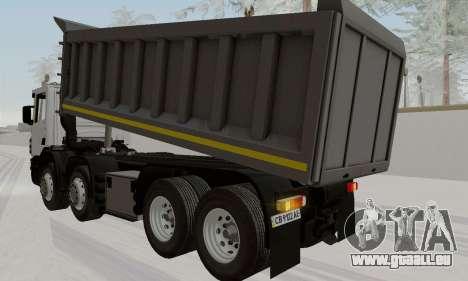 Scania P420 pour GTA San Andreas laissé vue