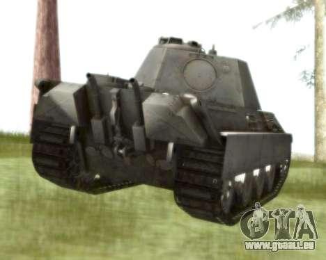 Pzkpfw V Panther II pour GTA San Andreas vue de droite