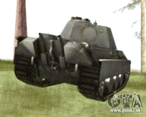 Pzkpfw V Panther II für GTA San Andreas rechten Ansicht