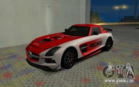 Mercedes-Benz SLS AMG 2013 Black Series für GTA San Andreas Innenansicht