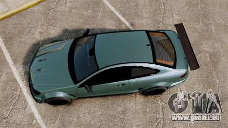 Mercedes-Benz C63 AMG pour GTA 4 est un droit