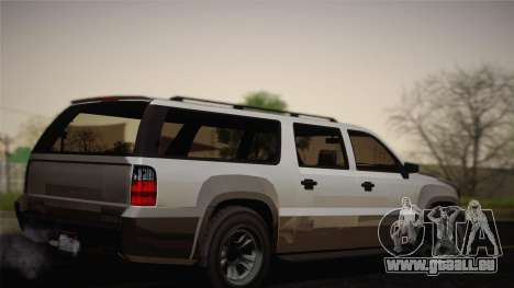 Granger civile de GTA 5 pour GTA San Andreas laissé vue