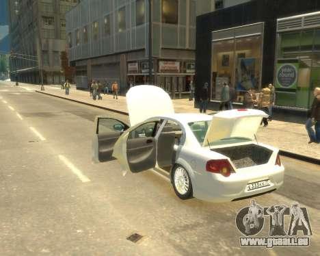 GAZ Volga Sajber pour GTA 4 est un droit