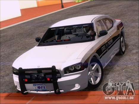 Dodge Charger San Andreas State Trooper für GTA San Andreas Unteransicht