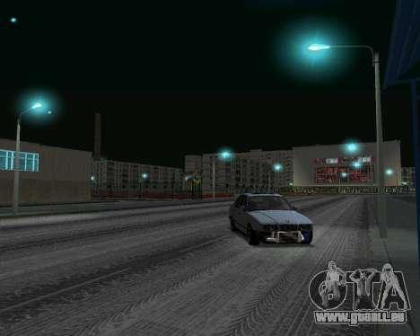BMW 5 E34 crampes-er pour GTA San Andreas sur la vue arrière gauche