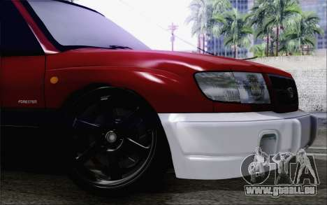Subaru Forester Hellaflush pour GTA San Andreas vue de droite