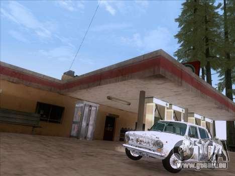 VAZ 21011 Cottage für GTA San Andreas Rückansicht