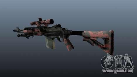 Fusil de sniper M21 Mk14 v5 pour GTA 4 secondes d'écran